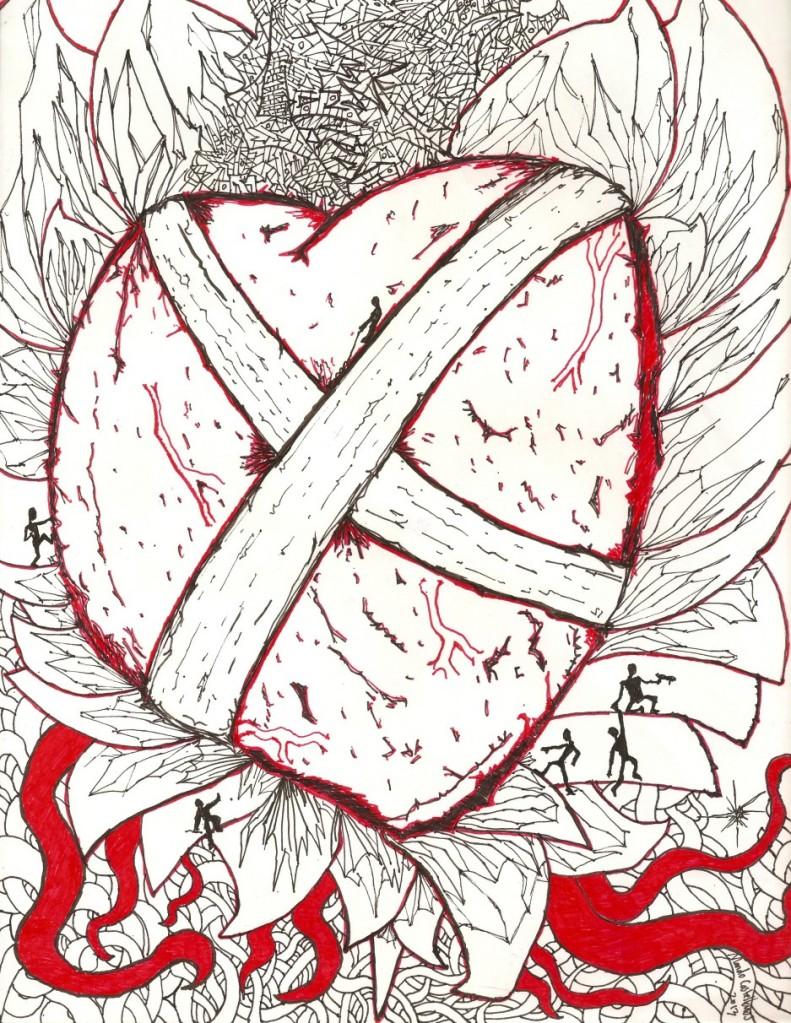 Heart Attack by Mando Castellanos