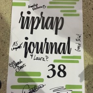 Poster that a few of the contributors signed, including me! ;)